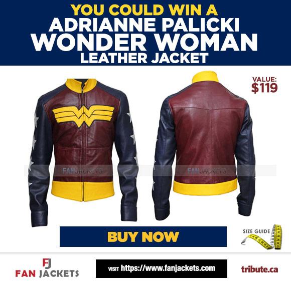 Adrianne Palicki Wonder Woman Leather Jacket contest