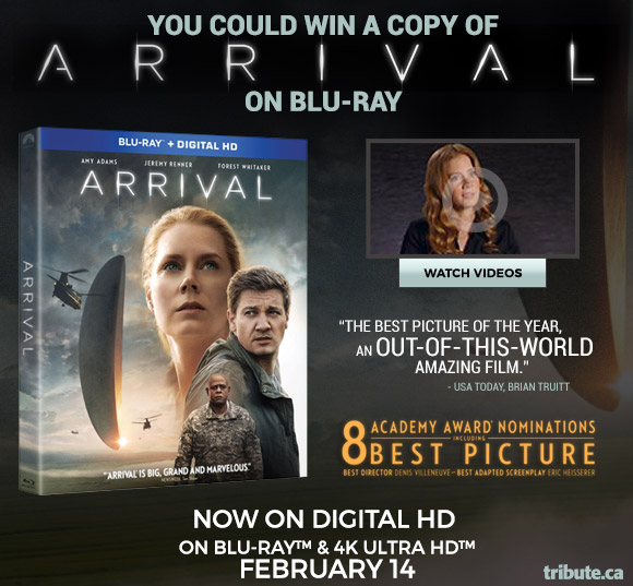 Arrival Blu-ray Pack contest
