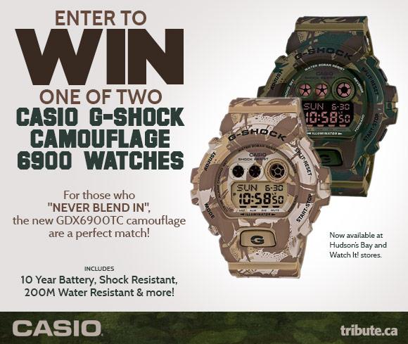 Casio G-Shock Watches contest
