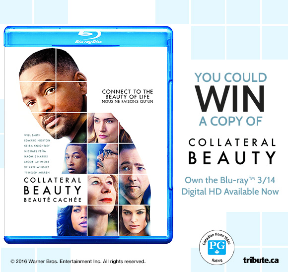 Collateral Beauty Blu-ray Pack