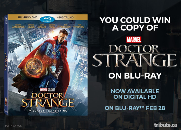 Dr. Strange Blu-ray Pack contest