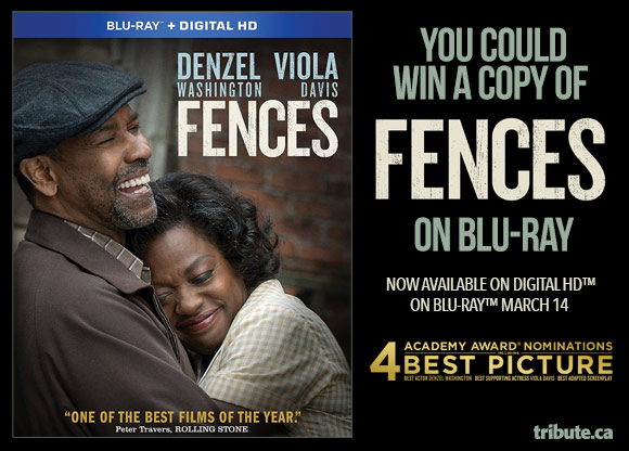 Fences Blu-ray Pack contest