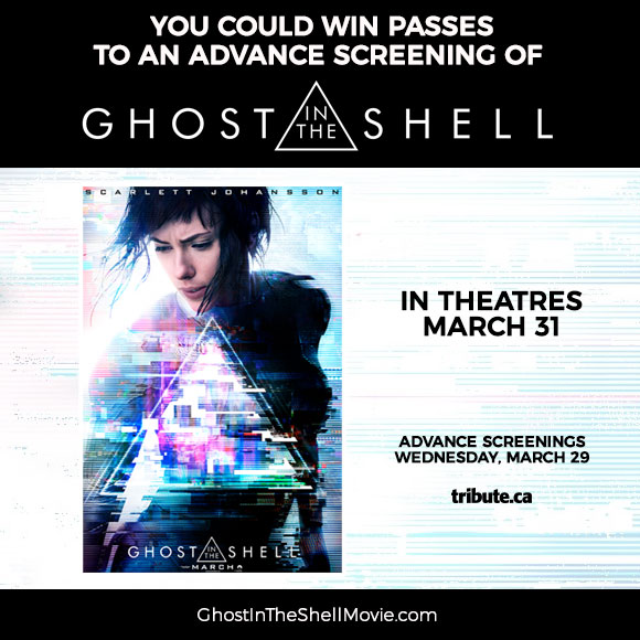 Ghost In The Shell Advance Screening Passes Contest