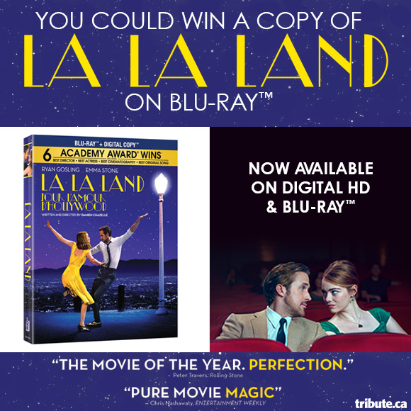 La La Land Blu-ray contest