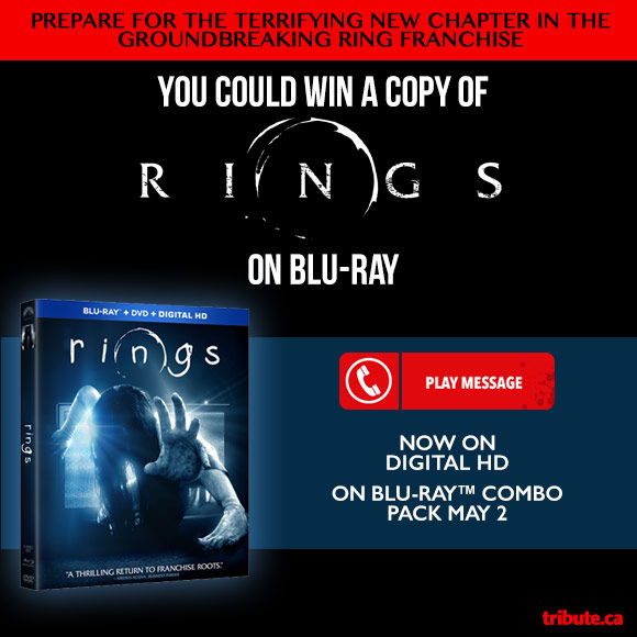 RINGS Blu-ray combo pack contest