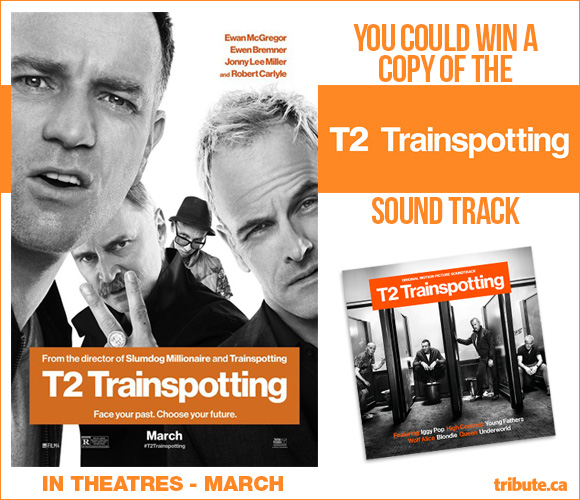 T2 Trainspotting Movie Soundtrack contest