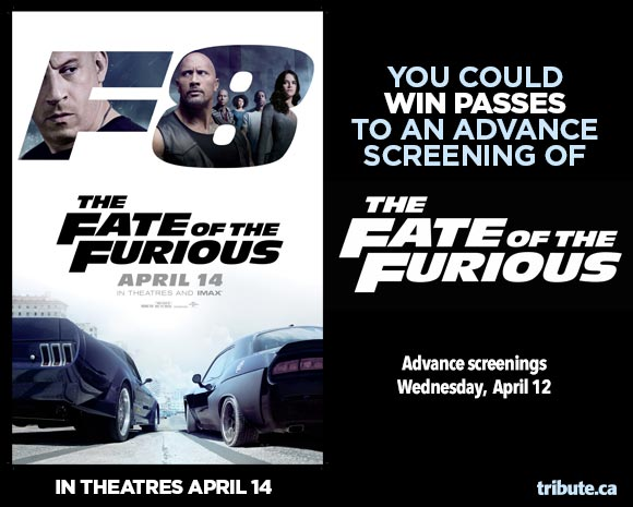 The Fate of the Furious Advance Screening Passes Contest