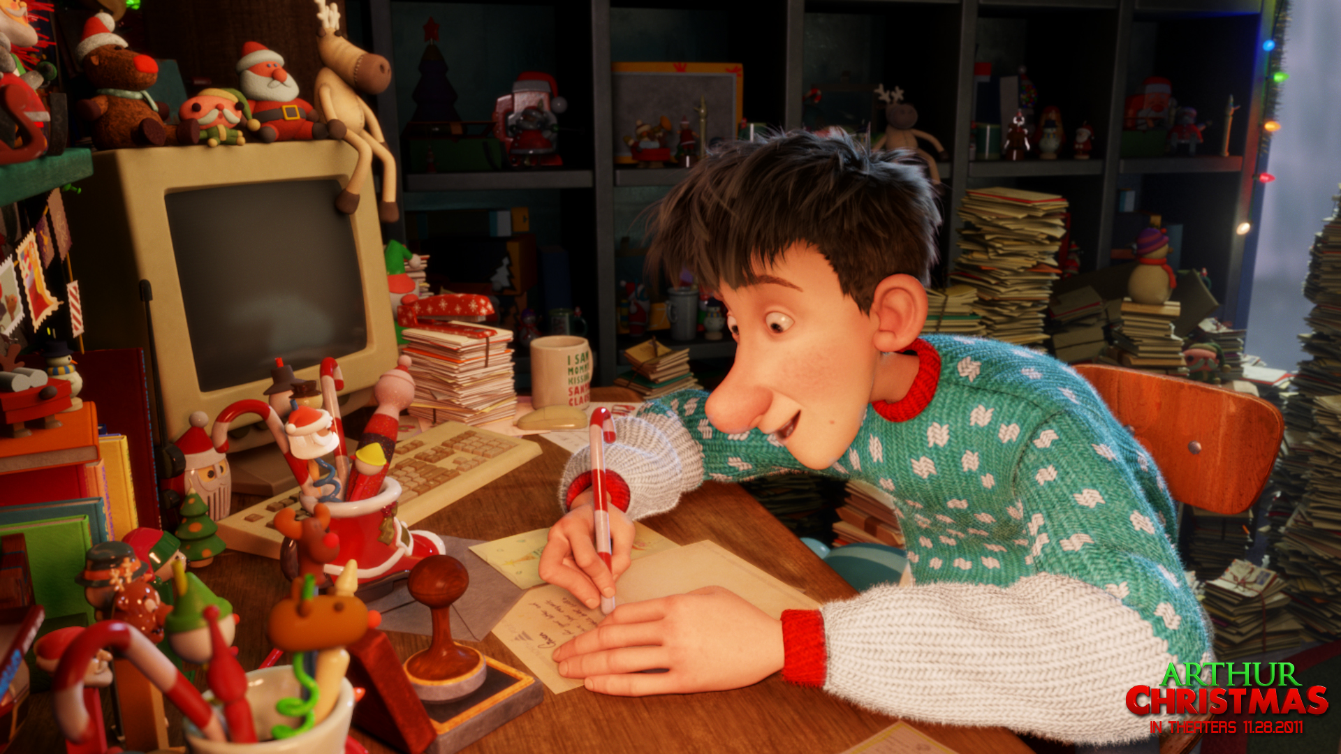 Arthur Christmas Movie Downloads And Wallpapers Kids Tribute