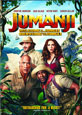 Jumanji: Welcome to the Jungle on DVD cover