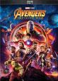 Avengers: Infinity War on DVD cover