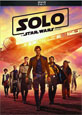 Solo: A Star Wars Story on DVD cover