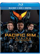 Pacific Rim Uprising on DVD cover