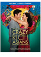 Crazy Rich Asians on DVD cover