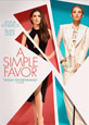 A Simple Favor on DVD cover