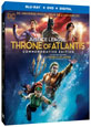 Justice League: Throne of Atlantis on DVD cover
