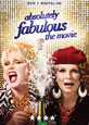 Absolutely Fabulous: The Movie on DVD cover