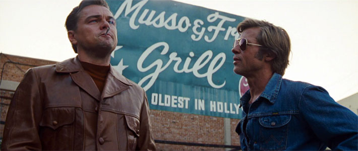 'Once Upon a Time in Hollywood' Trailer Movie Poster