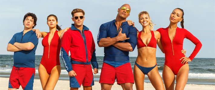 Baywatch - Now Playing Poster
