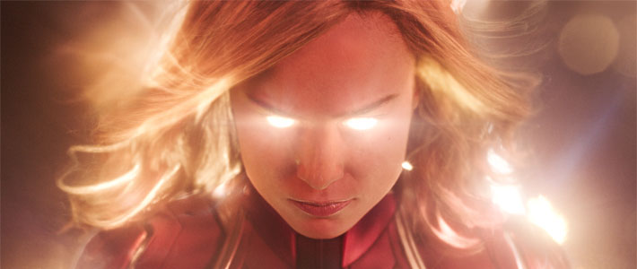 Captain Marvel - Now Playing Poster