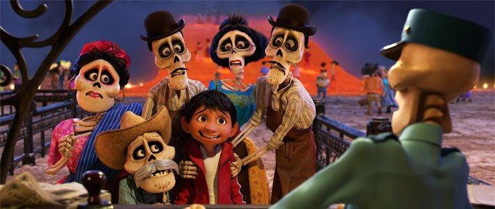 Coco - Now Playing Movie Poster
