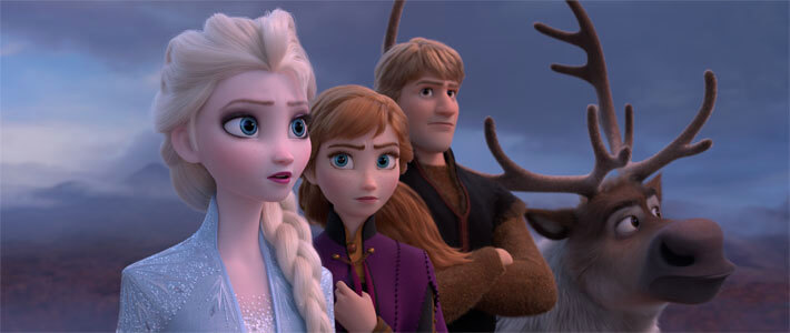Frozen II - Now Playing Movie Poster