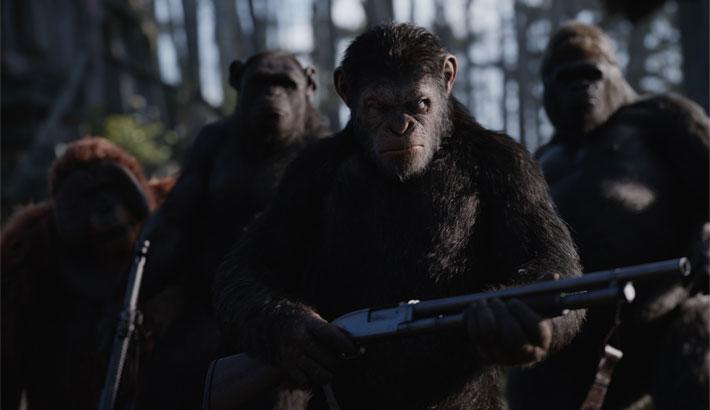 La guerre de la planète des singes Poster