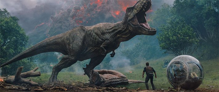 'Jurassic World: Fallen Kingdom' - Now Playing Movie Poster
