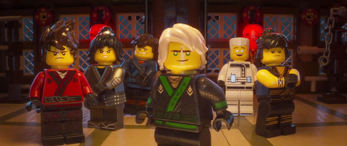 The LEGO NINJAGO Movie - Official Trailer Movie Poster