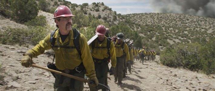 Only the Brave - Now Playing Movie Poster