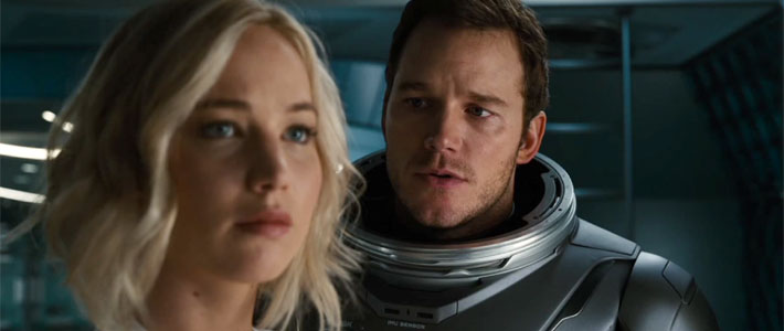 Passengers - Official Trailer Poster
