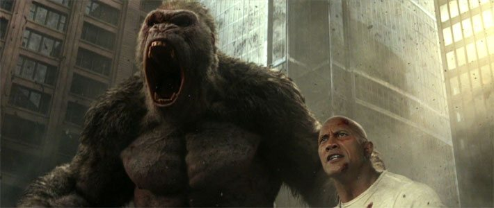 Rampage - Trailer #2 Poster