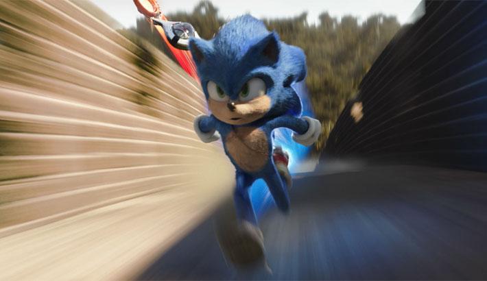 Sonic le hérisson Poster