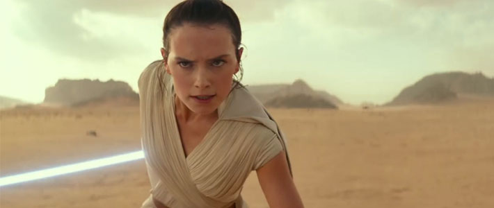 Star Wars: The Rise of Skywalker - Teaser Trailer Movie Poster
