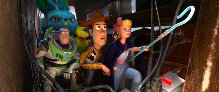 Toy Story 4 - Now Playing Movie Poster