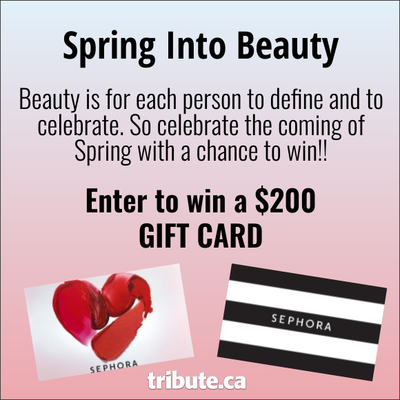 Enter for your chance to win a $200 Beauty Gift Card