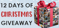 Enter our 12 Day of Christmas Giveaway, new prizes each day!