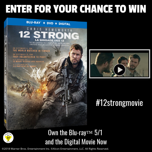 12 Strong Blu-ray contest