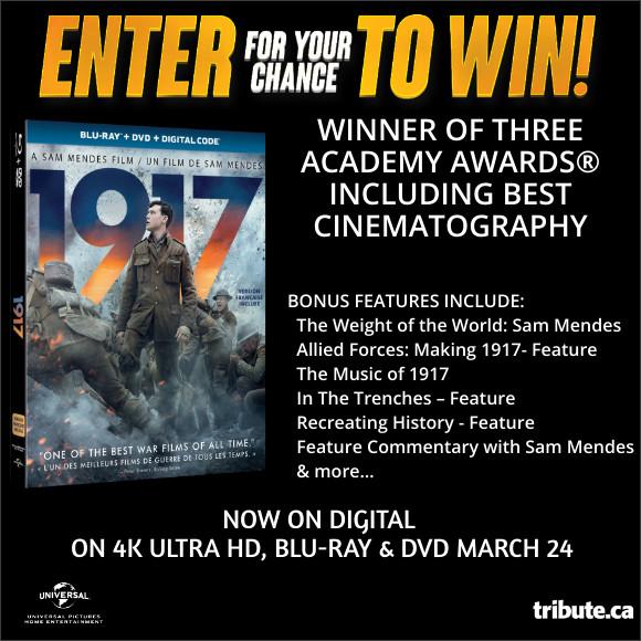 1917 Blu-ray contest