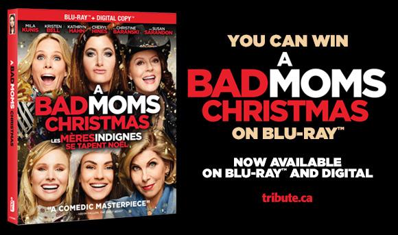 A Bad Moms Christmas Blu-ray contest