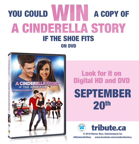 You Could Win a Copy of A Cinderella Story: If the Shoe Fits on DVD