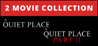 A QUIET PLACE: Two Movie Collection On Blu-Ray