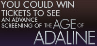 Win advance screening passes to see Age of Adaline
