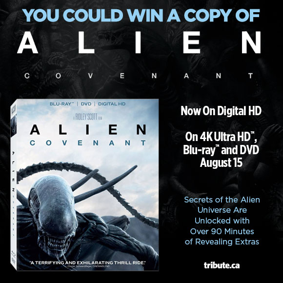 Alien Covenant Blu-ray contest