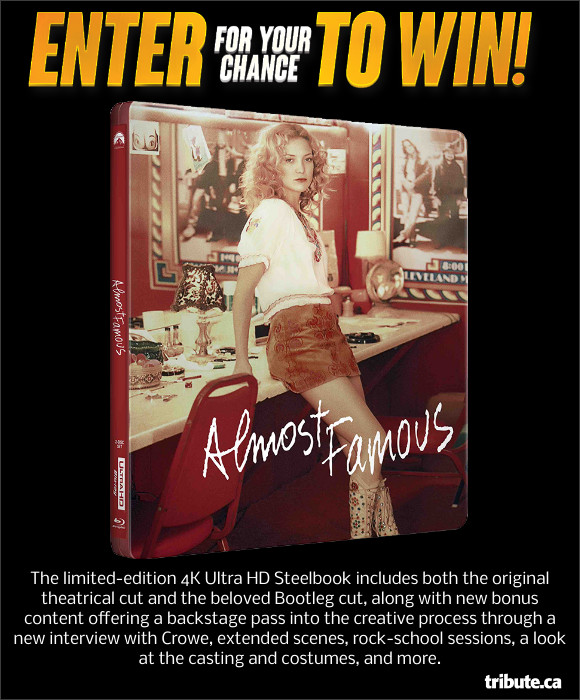 Almost Famous 4K Ultra HD Steelcase Contest