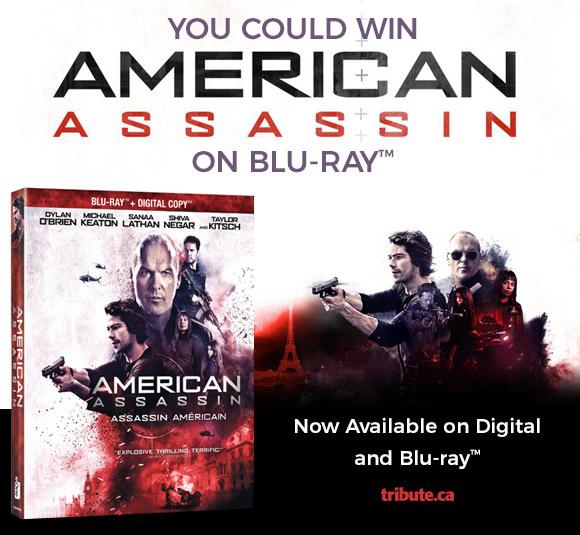 American Assassin Blu-ray contest