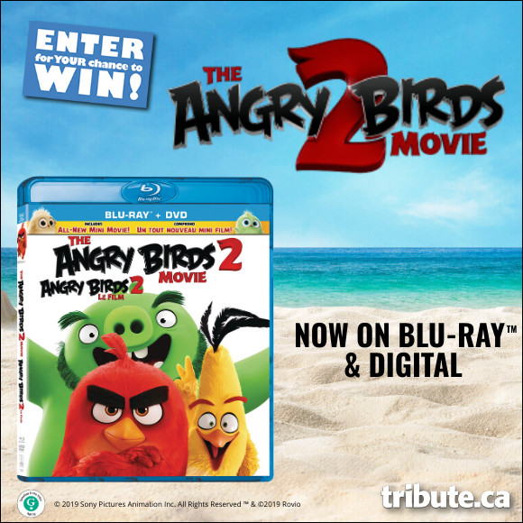 ANGRY BIRDS MOVIE 2 Blu-ray contest