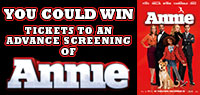 Win Advance Screening family tickets to see Annie