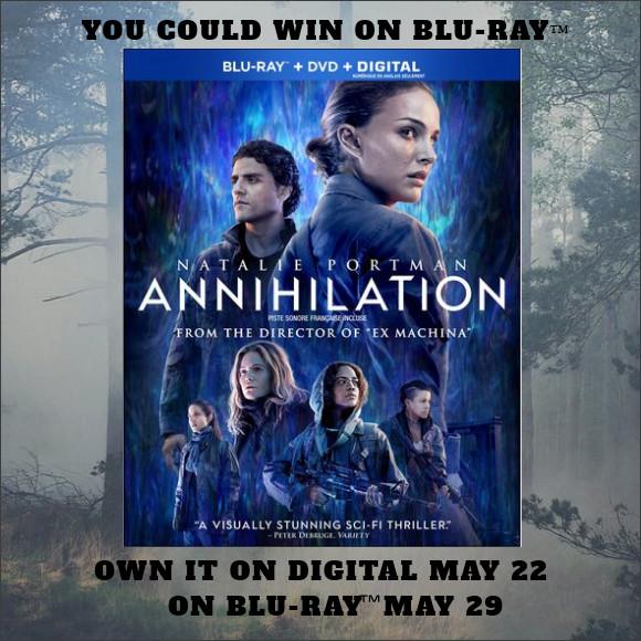 Annihilation Blu-ray contest