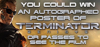 Win an Autographed Terminator Genisys Poster and passes to see the film