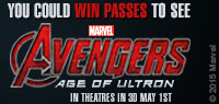 Win advance screening passes to see Avengers Age of Ultron